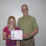 Courtney H nominated by Mr. Jarboe, Orchestra teacher