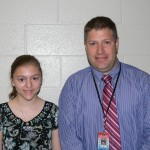 Kerri B, nominated by Mr. Fairchild, Science teacher