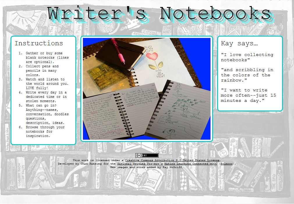 writers notebooks