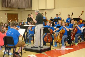 This orchestra can sight read!