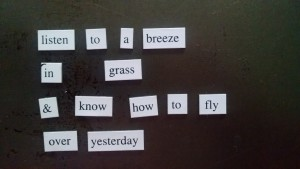 magnetic poem 2